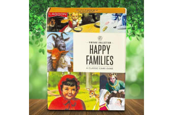 Ladybird Books Happy Families Card Game | playing cards travel