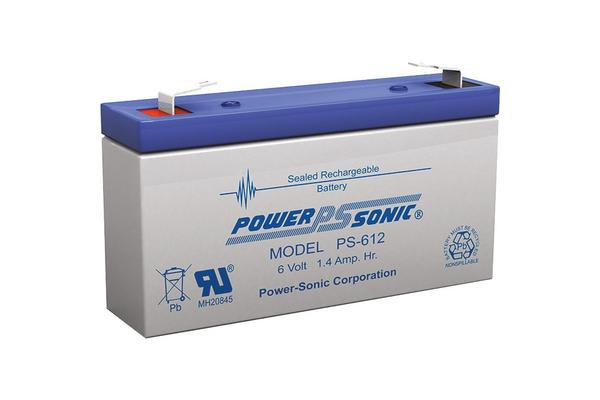 Power Sonic 6V 1.4Amp Sla Battery