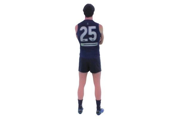 Alex Pearce AFL Fremantle Dockers 3D Printed Mini League Figurine - 23cm