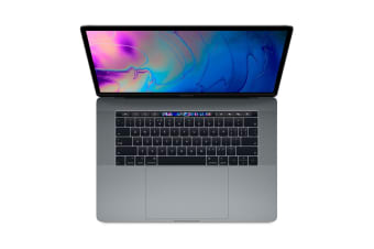 "Apple 15"" MacBook Pro with Touch Bar (2.6Ghz i7, 16GB RAM, 512GB SSD, Space Grey) - MR942"