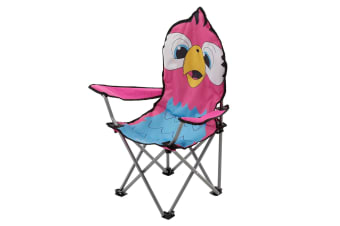 Regatta Great Outdoors Childrens/Kids Animal Camping Chair (Parrot/Pink)