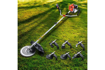 Giantz 62CC Pole Chainsaw Hedge Trimmer Brush Cutter Whipper Snipper Multi Tool