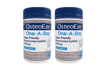 Herron OsteoEze 240 Tablet One A Day Vegan Glucosamine Sulfate 1500mg Joint Care