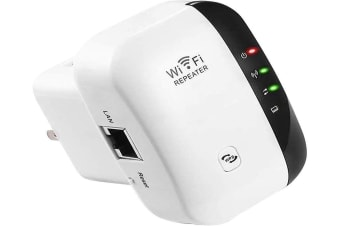 WiFi Range Extender 300Mbps Wireless Repeater 2.4G Internet Signal Booster Superboost Amplifier Supports Repeater/AP