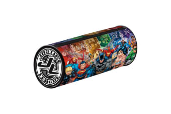Justice League Barrel Pencil Case (Multicoloured)