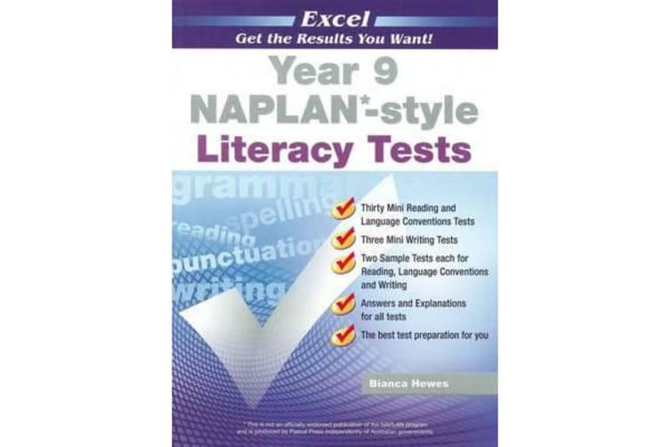 NAPLAN-style Literacy Tests - Year 9