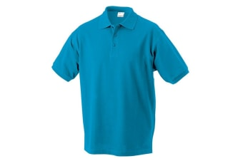James and Nicholson Childrens/Kids Classic Polo (Turquoise) (S)