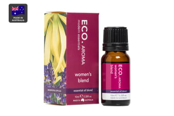 ECO. Aroma Women's Essential Oil Blend with Cedarwood, Lavender, Geranium & Ylang Ylang (10mL)