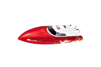 Rusco Racing Sea Ripper RC Boat - Red - 2.4GHz