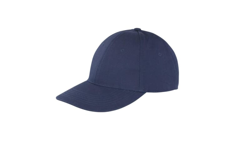 Result Unisex Core Memphis 6 Panel Baseball Cap (Pack of 2) (Navy Blue) (One Size)