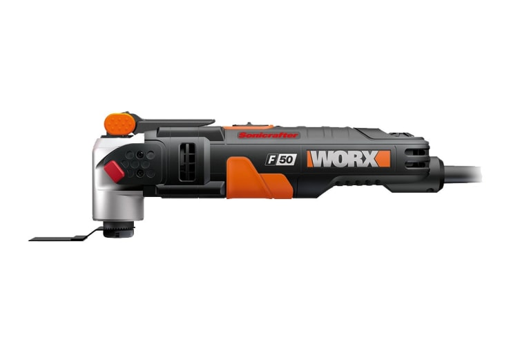 WORX 450W Sonicrafter Multi Tool with 39 Piece Accessory Kit and Utility Box (WX681)