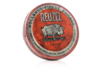 Reuzel Red Pomade (Water Soluble  High Sheen) 113g/4oz