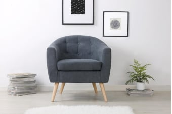 Shangri-La Sanna Armchair (Midnight Blue)