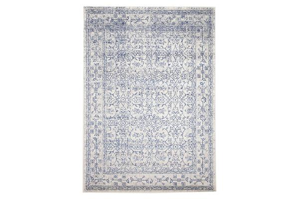 Whisper White Transitional Rug 400x300cm
