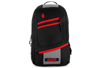 """Timbuk2 20L Shotwell 15-Inch Laptop Case/Cover Backpack Carry Bag 15"""" Black/Red"""