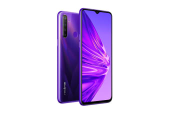realme 5 (128GB, Crystal Purple)