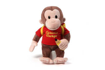 Curious George Plush Back to School
