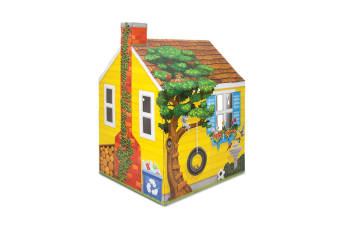 Melissa & Doug Cardboard Indoor Playhouse (Cottage)