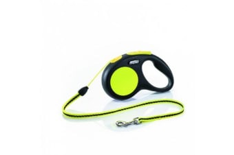 Flexi Neon Cord Retractable Lead - Medium
