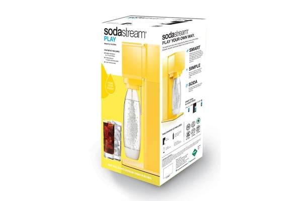 SodaStream Play Sparkling Water Maker (Yellow)