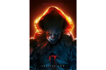 IT Chapter Two Pennywise Poster (Multicoloured) (One Size)