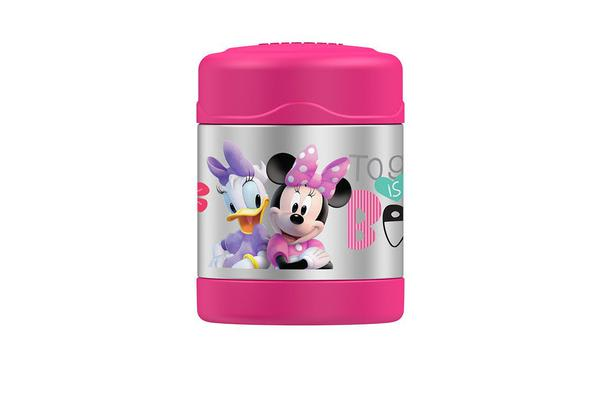 Thermos Funtainer S/S Vacuum Insulated Food Jar 290ml Disney Minnie Mouse