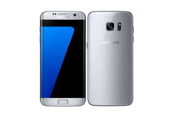 Samsung Galaxy S7 Edge Dual SIM (32GB, Silver) - Pre-owned