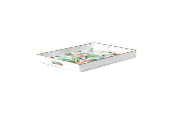 Kitchen Warehouse Summer Serving Tray 48x35x4cm Tropical