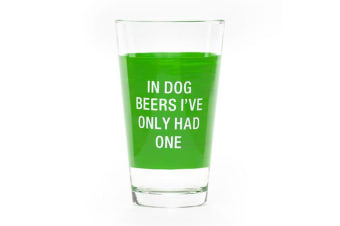 Say What Pint Glass - Dog Beers