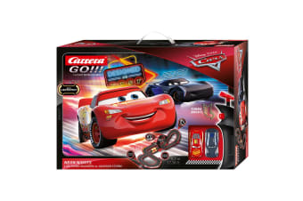 Carrera Go 1:43 Disney Pixar Cars Neon Lights Slot Car Racing Track Kids Toy 6y+