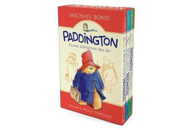 Paddington Classic Adventures Box Set - A Bear Called Paddington, More about Paddington, Paddington Helps Out
