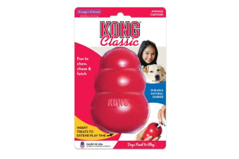 KONG X-Large Classic Red Rubber Dog Toy for Tough Chewing Pets