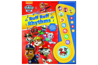 Paw Patrol Ruff Ruff Rhythms Deluxe Music Note Play-A-Song Book