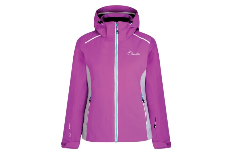 Dare2B Womens/Ladies Inflect Jacket (Traffic Purple/Light Grey) (16 UK)