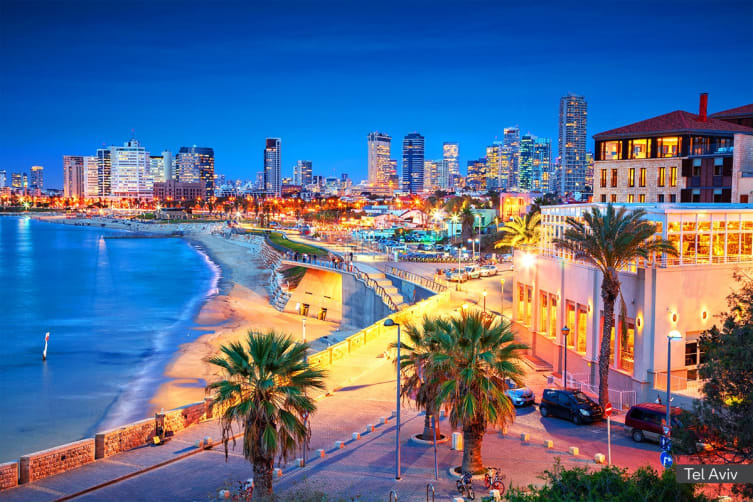 ISRAEL: 10 Day Discover Israel Tour Including Flights for Two