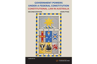 Government Powers under a Federal Constitution