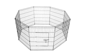 8 Panel Hexagonal Pet Playpen 30 Inch