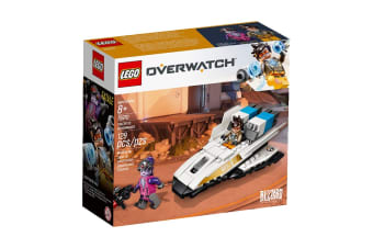 LEGO Overwatch Tracer vs. Widowmaker (75970)