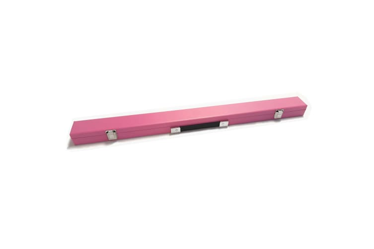 "Pool Cue Box Case for 2-Piece 57"" Billiard Snooker Cue Pink"