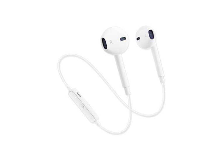 Select Mall Wireless Bluetooth Headset Sports Mini Dual Stereo In-Ear Universal Bluetooth 4.1 Headset-White