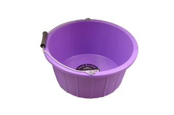ProStable Feed Bucket (Purple) (3 Gallons)