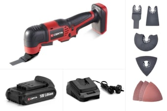 Certa PowerPlus 18V Multi Tool Kit