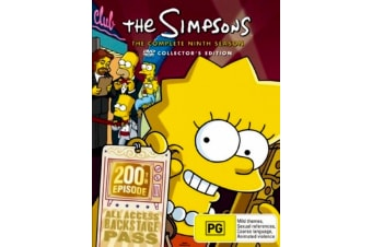 THE SIMPSONS: SEASON 9 BOX SET -Animated Series Rare- Aus Stock Preowned DVD: DISC LIKE NEW