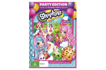 Shopkins Chef Club: Party Edition DVD