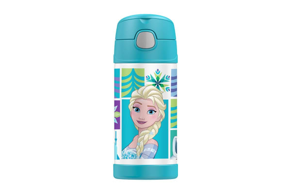 Thermos FUNtainer Stainless Steel Insulated Drink Bottle - Disney Frozen