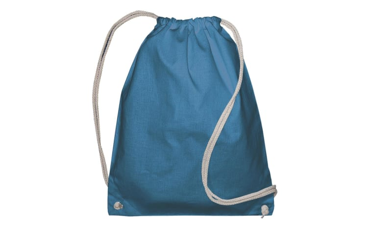 Jassz Bags Drawstring Backpack (Mid Blue) (One Size)