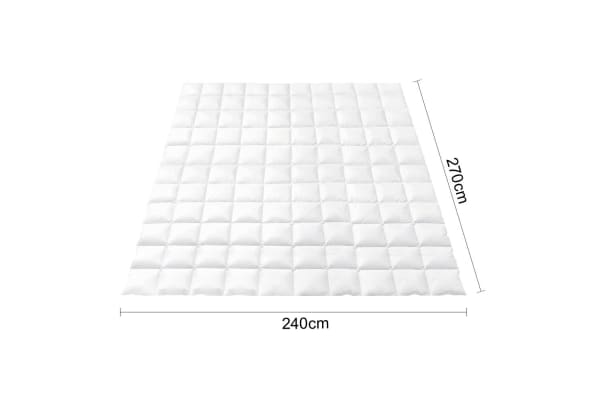 Giselle Bedding Lightweight Goose Down Feather Quilt (Super King)