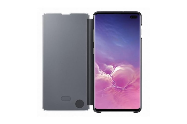 Samsung Galaxy S10+ Plus Clear View Cover - Black