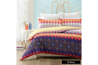 2 EI Reno Quilt Cover Set QUEEN by Phase 2