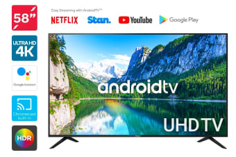 "Kogan 58"" Smart HDR 4K UHD LED TV Android TV (Series 9, RU9210)"